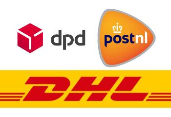 PostNL, DPD en DHL als voorkeursvervoerders